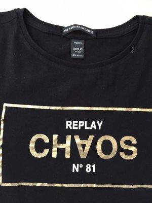 Schwarzes Shirt von Replay