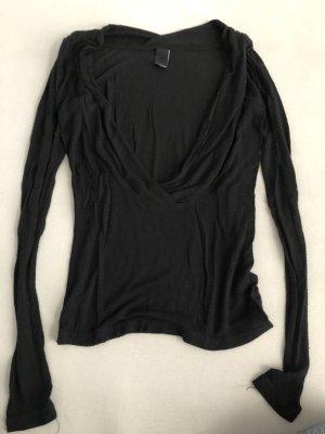 Vero Moda Camisa cruzada negro