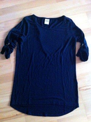 Schwarzes Shirt von Vero Moda mit Armverzierung