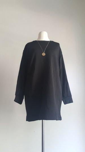 Shirt Dress black polyester