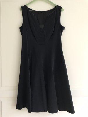 Elie Tahari A Line Dress black