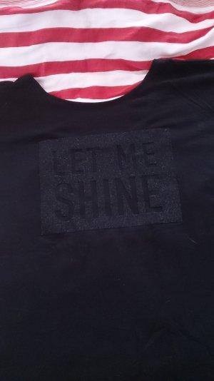 Schwarzes Sommer-Shirt