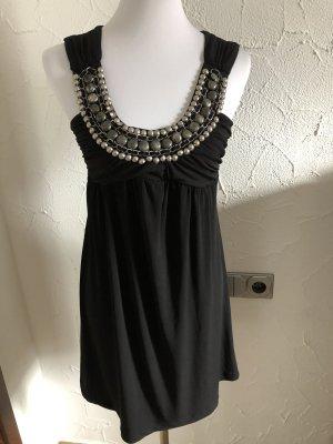 schwarzes Sommerkleid / Kleid von Bonprix - Gr. 32/34