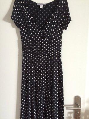 Schwarzes Sommerkleid von Ashley Brooke Gr 36