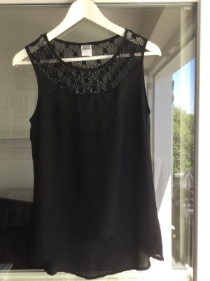 Vero Moda Lace Top black