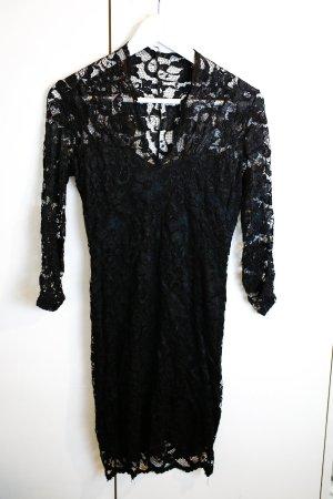 Schwarzes Spitzen Kleid