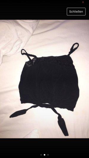 Brandy & Melville Lace Top black