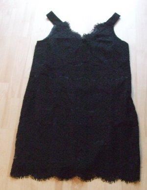 schwarzes Spitzenkleid von Sisley - Gr. M