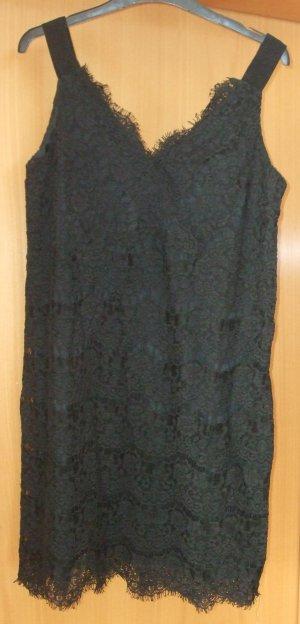schwarzes Spitzenkleid von Sisley  - Gr. M - Neu
