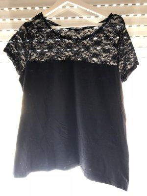 H&M Ribbed Shirt black