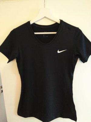 Nike T-shirt de sport noir polyester