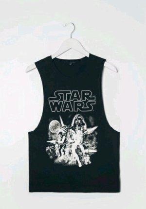 Schwarzes Star Wars Shirt