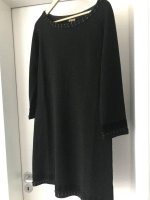 Maliparmi Vestido de lana negro