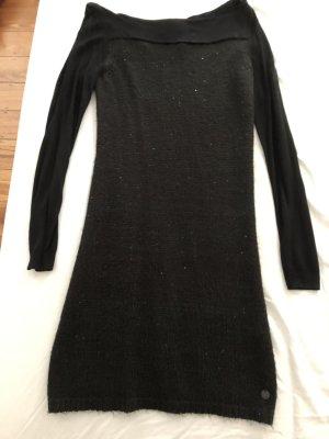 Tom Tailor Denim Robe en maille tricotées noir