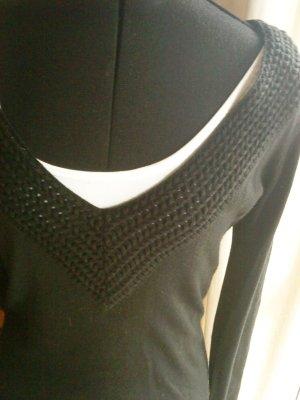schwarzes Strickkleid von Vero moda Größe M