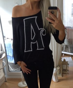 H&M Knitted Jumper black