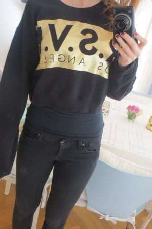 Schwarzes Sweatshirt Forever21