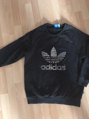 Schwarzes Sweatshirt / Pullover von Adidas, Gr. 36