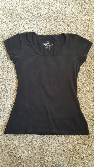 Schwarzes T-Shirt, Größe S, nur einmal getragen!