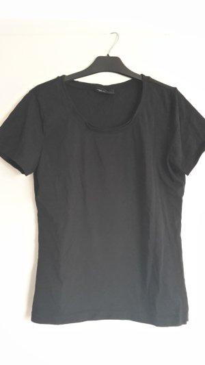 Schwarzes T-Shirt in 40/42