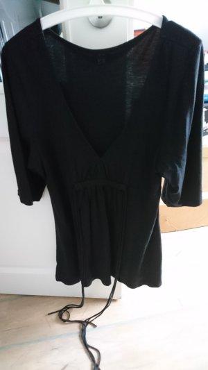 schwarzes T-Shirt in A-Form, Größe 38/40 - passt auch einer 42