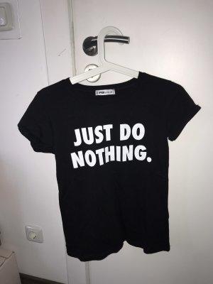 FB Sister Oversized shirt zwart-wit