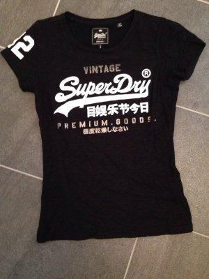 Schwarzes T-Shirt - SuperDry