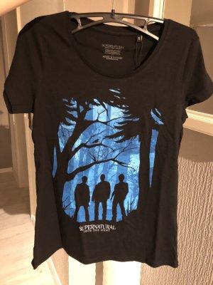 Schwarzes T-Shirt supernatural