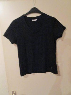schwarzes T-Shirt / Tom Tailor