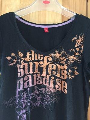 Schwarzes T-Shirt von edc in Größe L