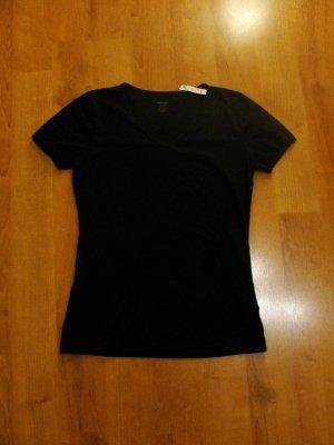 Schwarzes T-Shirt von Montego in GR M, neu & mit Etikett