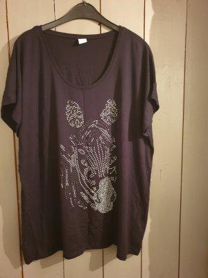 schwarzes T-Shirt von msmode