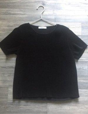 Schwarzes T-Shirt von Samsoe Samsoe