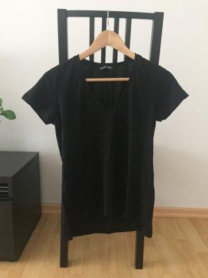 schwarzes T-Shirt von Zara