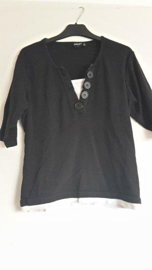 Schwarzes T-Shirts in L