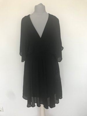 H&M Premium Chiffon Dress black