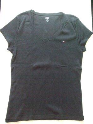 schwarzes Tommy Hilfiger T-Shirt