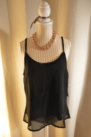 Vero Moda Top cut out negro