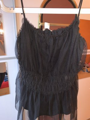 H&M Spaghetti Strap Top black