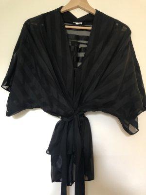 Lala Berlin Chemisier kimono noir