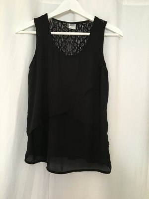 schwarzes Top von Vero Moda