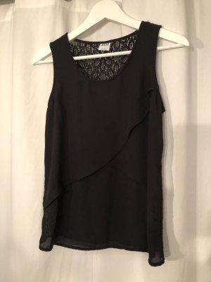 schwarzes Top von Vero Moda in S