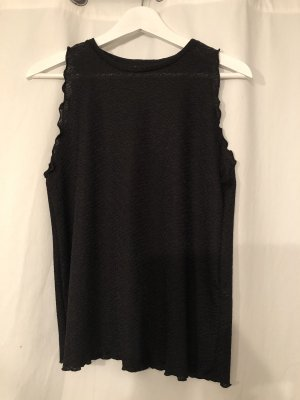 schwarzes Top von ZARA Collection in M