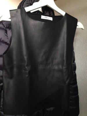 Schwarzes Top von Zara