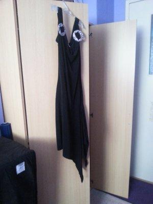 schwarzes Topkleid