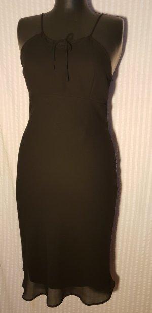 Colloseum Chiffon jurk stoffig roze-zwart Polyester