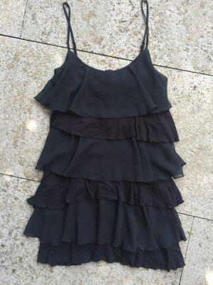 schwarzes Trägerkleid von Forever21