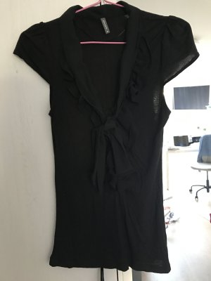 schwarzes Tshirt mit tollem Detail