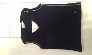 schwarzes TShirt mit weißem Einsatz von Cecil