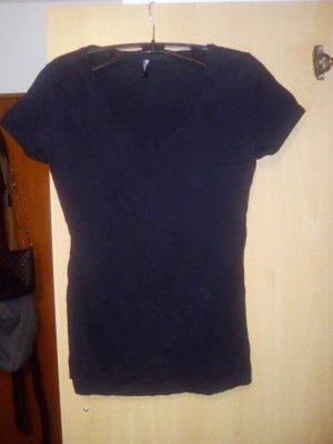schwarzes Tshirt von Takko